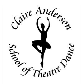 Claire Anderson School of Theatre Dance