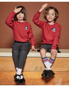 Kids raglan sleeve sweatshirt