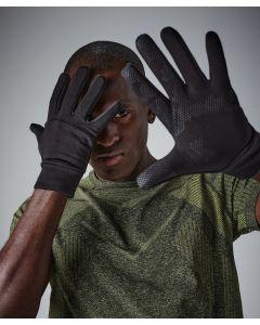 Softshell sports tech gloves