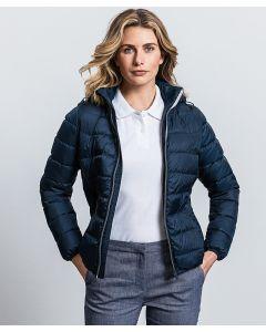 Women's hooded Nano jacket