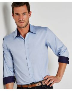 Contrast premium Oxford shirt long-sleeved (tailored fit)