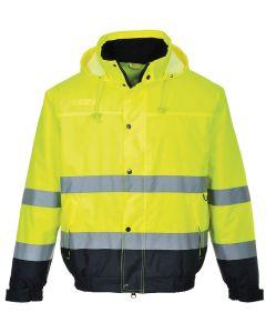 Hi-vis bomber jacket (S463/S226)