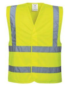 Hi-vis two-band-and-brace vest (C470)