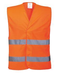 Hi-vis two-band vest (C474)