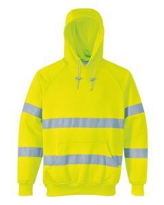 Hi-vis hooded sweatshirt (B304)