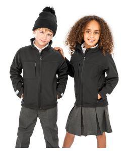 Junior classic softshell 3-layer jacket