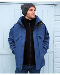 3-in-1 zip and clip jacket