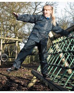 Junior waterproof jacket and trouser set
